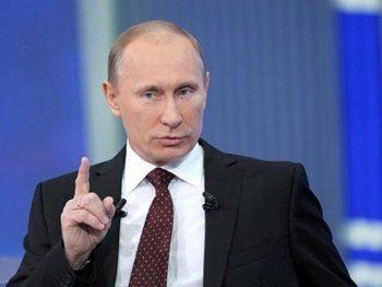 Путин отказался «бряцать атомным оружием»
