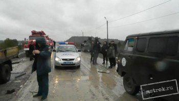 В Нижнем Тагиле танк протаранил грузовик. Есть пострадавший (ФОТО)