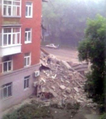 В Ирбите обрушился жилой дом