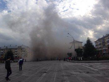 В Кузбассе обрушился подъезд жилого дома