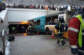 В Москве автобус заехал в переход, пять человек погибли