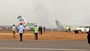 В Южном Судане разбился самолёт c 44 пассажирами