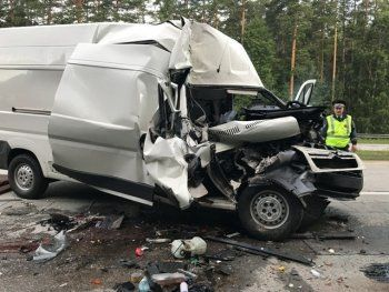 Под Екатеринбургом произошли две страшные аварии (ФОТО)
