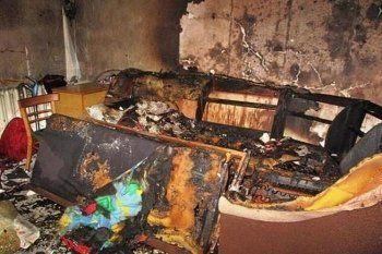 В Нижнем Тагиле в собственной квартире сгорела женщина