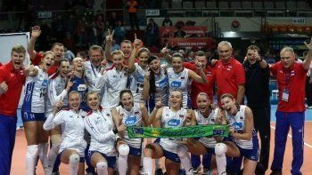 Волейбольная сборная России завоевала путёвку на Олимпиаду