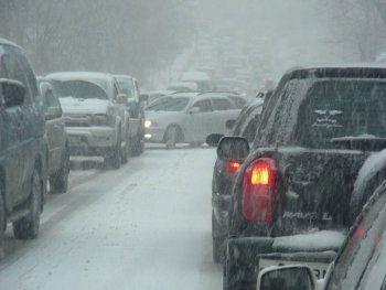 В Свердловской области из-за снегопада количество ДТП увеличилось в два раза