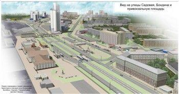 Пока только один тагильчанин проголосовал против нового проекта привокзальной площади