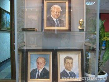 На Уралвагонзавод прибыли президенты России (ФОТО)