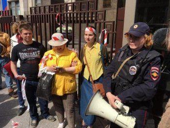 Полиция отпустила задержанных на пикете против сноса пятиэтажек