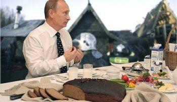 Путин приказал уничтожать санкционные продукты