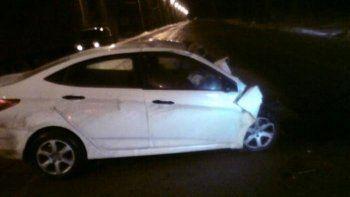 В Нижнем Тагиле на Восточном шоссе в лобовом ДТП сошлись Hyundai и Skoda
