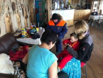 Семья из Нижнего Тагила заблудилась во время метели на Байкале