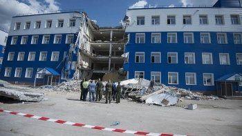 СК рассказал о результатах экспертизы по делу об обрушении казармы в Омске