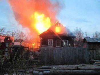 В Нижнем Тагиле при пожаре пострадал пенсионер