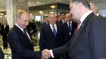 Встреча в Минске: о чём говорили Путин и Порошенко