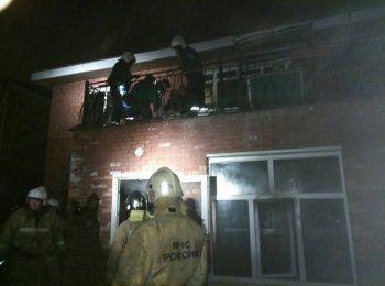 14 человек пострадали при пожаре в иркутском доме престарелых
