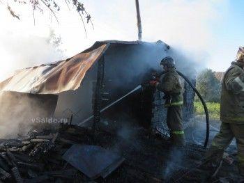 В Верхней Салде в огне погибли женщина и двухлетний ребёнок