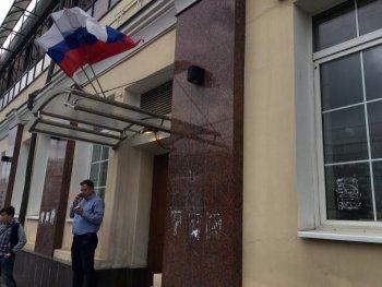 В Москве полиция заблокировала штаб Навального