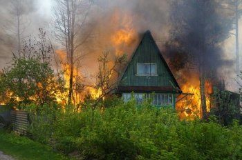 Под Нижним Тагилом в огне погибла супружеская пара