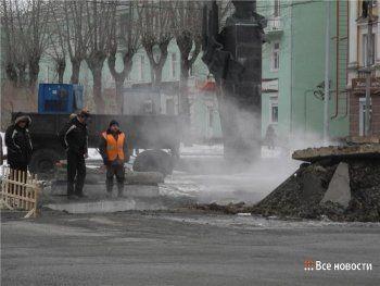 На Вагонке из-за коммунальной аварии отключили отопление и горячую воду