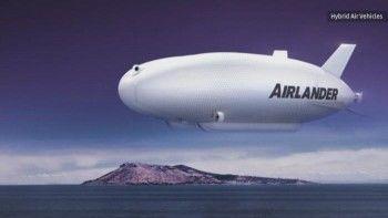 В небо запустили крупнейшее воздушное судно в мире (ВИДЕО)
