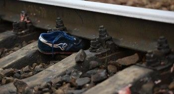 В Артёмовском мужчине поездом отрезало ногу