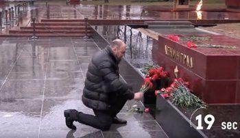 «Эхо Москвы»: Активисты «Антимайдана» устроили пиар на акциях памяти по жертвам теракта (ВИДЕО)