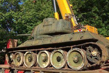 Эстонец спас танк производства «Уралвагонзавода» от переплавки