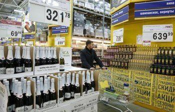 Минпромторг предложил увеличить стоимость лицензии на алкоголь для торговых сетей