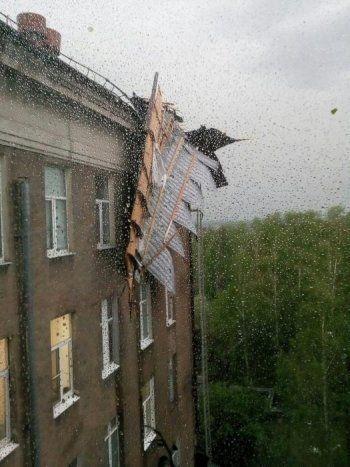 На ремонт Демидовской больницы, которая больше остальных пострадала от урагана в Нижнем Тагиле, потребуется 10 миллионов рублей