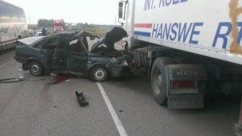В Воронежской области столкнулись 33 автомобиля, четыре из них загорелись