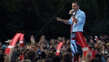 В Новосибирске перед митингом Навального затопило парк