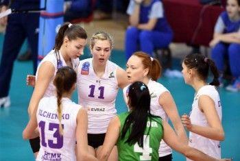 «Уралочка-НТМК» вышла в плей-офф Лиги чемпионов