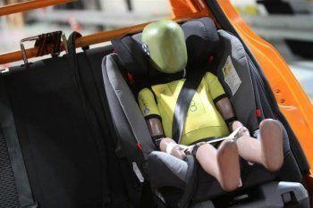 Учёные назвали самое безопасное место для детского автокресла