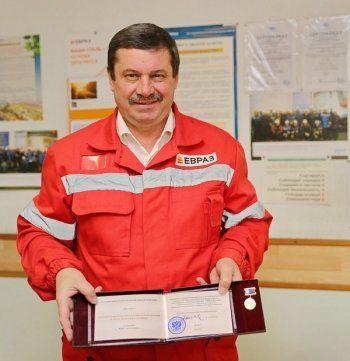 Рабочий с НТМК стал лауреатом премии РФ