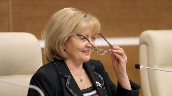 Единороссы выдвинули Людмилу Бабушкину на пост спикера свердловского Заксобрания