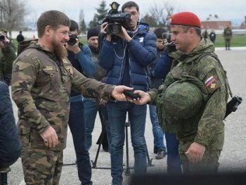 В Сирию отправили ещё один батальон чеченских военных