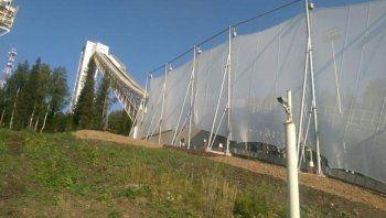 Нижний Тагил выполнил условия FIS по установке ветрозащиты трамплинов и вновь готовится принять международные соревнования