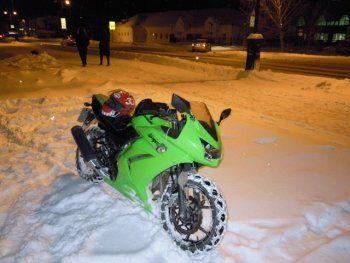 В Думе хотят запретить езду на мотоциклах зимой