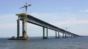 Застройщик Керченского моста пожаловался на остановку финансирования