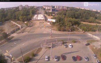 Строители перекрыли перекрёсток Фрунзе – Серова – Островского в Нижнем Тагиле