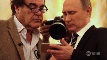 Кремль назвал источник показанного Путиным Стоуну видео «работы российской авиации»