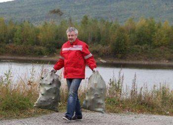 Сотрудники ЕВРАЗ НТМК и ЕВРАЗ КГОКа приняли участие во Всероссийском экологическом субботнике – «Зеленая Россия»