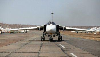 В Сирии разбился российский Су-24. Экипаж погиб