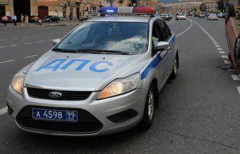 В центре Москвы «Мерседес» с номерами серии АМР насмерть сбил полицейского