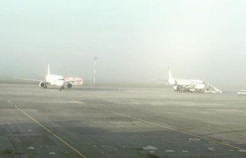 Туман парализовал работу аэропорта Кольцово. Задержаны десятки рейсов