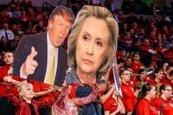 Клинтон опередила Трампа на 1 миллион голосов избирателей