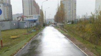 В Санкт-Петербурге чиновники отремонтировали дорогу с помощью фоторедактора