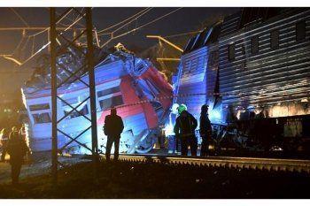 При столкновении поездов в Москве пострадали более 20 человек (ВИДЕО)