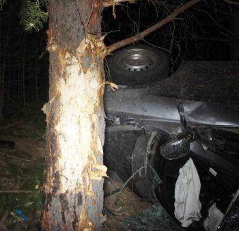 Под Нижним Тагилом после столкновения с деревом погиб водитель Geely Emgrand